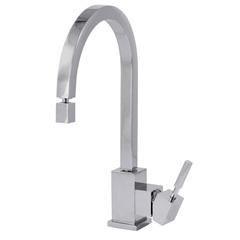Misturador para Cozinha Monocomando New Quadra Cromado - Perflex