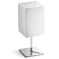 Abajur Quadrado Light 26cm Bivolt Branco - Casa Etna