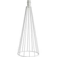 Abajur sem Cúpula Tower Branco 50cm - LS Ilumina