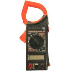 Alicate Amperímetro Digital 1000a 750v com Estojo Preto E Laranja - Force Line