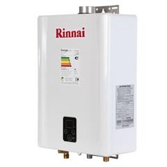 Aquecedor de Água a Gás Digital Bivolt Gn E21 Branco - Rinnai