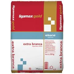 Argamassa Colante Ligamax Extra Branca 20kg - Ligamax Gold