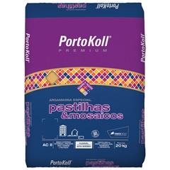 Argamassa para Pastilhas E Mosaicos Branca 20kg - Portokoll