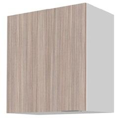 Armário de Cozinha Aéreo Blu Mdf 1 Porta Branco 60x60cm  - Bumi Móveis