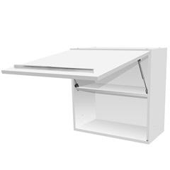 Armário de Cozinha Aéreo Fit Mdf Branco 1 Porta 60x60cm