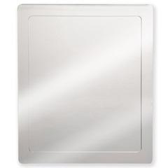 Armário em Aço Inox com Espelho Prata 40x50cm Ref. Pr440