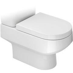 Bacia para Caixa Acoplada Carrara Branco Gelo - Deca