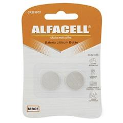 Bateria Lithium 3v 2 Unidades - Alfacell
