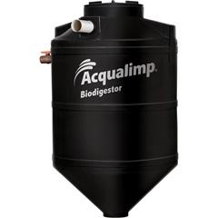 Biodigestor em Polietileno 1300 Litros Preto - Acqualimp