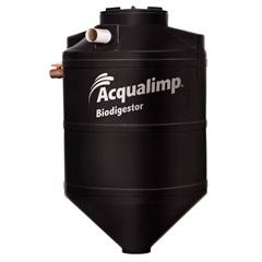 Biodigestor em Polietileno 600 Litros Preto - Acqualimp