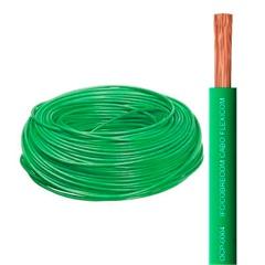 Cabo de Energia 750v 10mm² Flexicom com 50 Metros Verde - Cobrecom