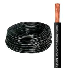 Cabo Flexível 6,0mm com 100 Metros Preto - Cobrecom