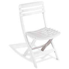 Cadeira de Plástico Dobrável Ipanema Branca - Tramontina