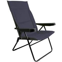 Cadeira de Praia com 4 Posições Alfa Azul