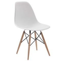 Cadeira em Policarbonato Eames Ii 47x55cm Branca - Casa Etna