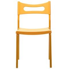 Cadeira em Polipropileno Easy 41x49cm Laranja - Casa Etna