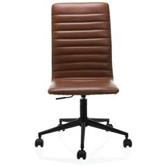 Cadeira em Poliuretano Winslow Cognac - Casa Etna