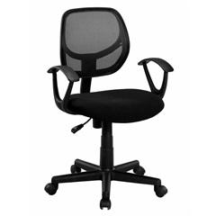 Cadeira Giratória Giga Ii 60x62cm Preta - Casa Etna