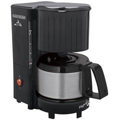 Cafeteira Elétrica 600w 110v Magnific 12 Xícaras com Jarra em Inox Preta