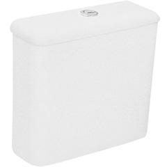 Caixa Acoplada Ecoflush 3/6 Litros Zip Branca