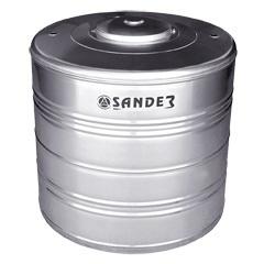 Caixa D' Água em Aço Inox 1.500 Litros Compacta Ac - Sander