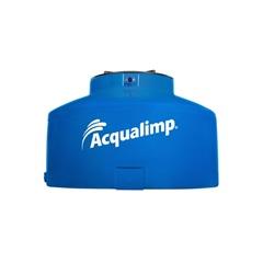 Caixa D' Água em Polietileno 1750 Litros Água Protegida Azul - Acqualimp
