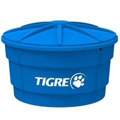 Caixa D'Água em Polietileno 500 Litros Azul - Tigre
