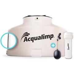 Caixa D'Água em Polietileno Água Limpa com 2 Acessórios 1750 Litros Bege - Acqualimp