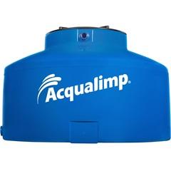 Caixa D'Água em Polietileno Água Protegida com 310 Litros Azul