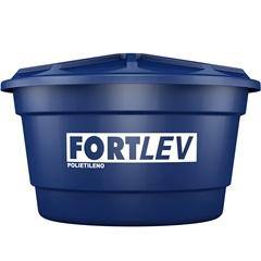 Caixa D'Água em Polietileno com Tampa 310 Litros Azul - Fortlev