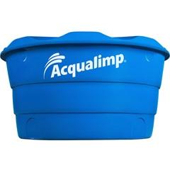 Caixa D'Água em Polietileno Dupla Proteção 500 Litros Azul - Acqualimp