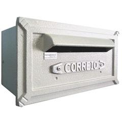 Caixa de Correio Alumínio Turquesa Ref: 251