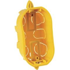 Caixa de Embutir para Drywall 4x2 Amarela - Cemar