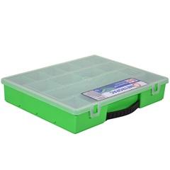 Caixa Organizadora com 18 Divisórias Verde - Metropac