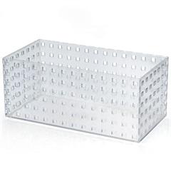 Caixa Organizadora em  Plástico Transparente de 4,3 Litros