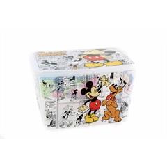 Caixa Organizadora Mickey Mouse 18,7 Litros Multicolorida - Plasútil