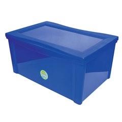 Caixa Organizadora Radical Azul 65 Litros  - Ordene