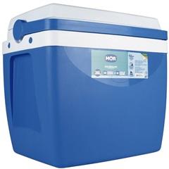 Caixa Térmica 26 Litros Azul E Branca - MOR