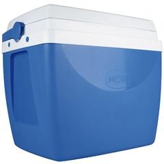 Caixa Térmica 34 Litros Azul E Branca - MOR