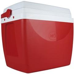 Caixa Térmica 34 Litros Vermelha E Branca - MOR