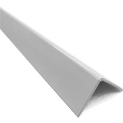 """Cantoneira em """"L"""" de Alumínio 1/2"""" Branca com 3 Metros - Metropac"""