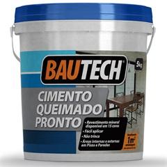 Cimento Queimado Pronto 5kg Bautech