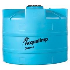 Cisterna Equipada para Rede Pública 5000 Litros com Bomba 110v Azul - Acqualimp