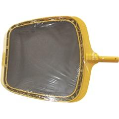 Coador de Folhas para Piscina 41cm Amarelo