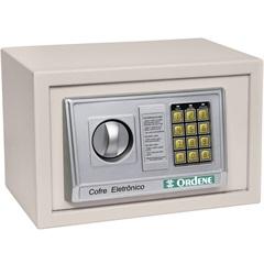 Cofre Eletrônico 31x20cm Bege - Ordene
