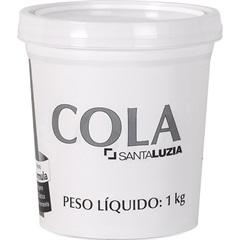Cola para Rodapé de 1kg      - Santa Luzia