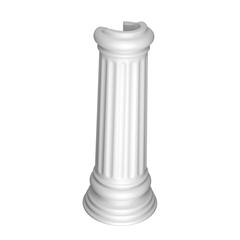 Coluna para Lavatório Windsor Branco Gelo - Ref: C17 - Deca