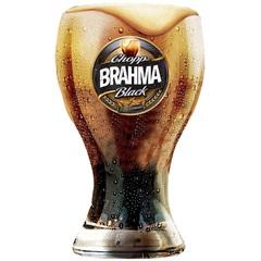 Copo para Cerveja em Vidro Brahma Black 430ml Transparente