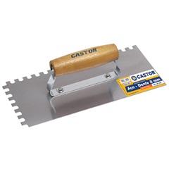 Desempenadeira de Aço Dentada 12x27cm Ref. 221 - Castor