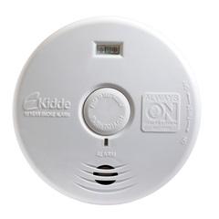 Detector de Fumaça para Corredor E Escada Branco